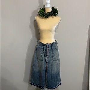 53c8fbe43f575c Women Calf Length Jean Skirts on Poshmark